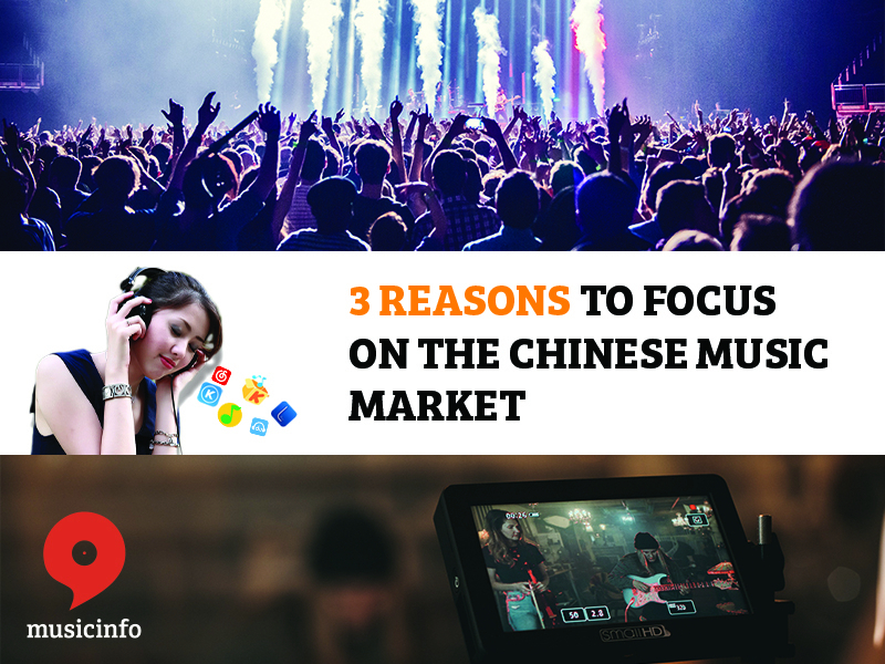 live music recording studio 3 reasons to distribute your music to China