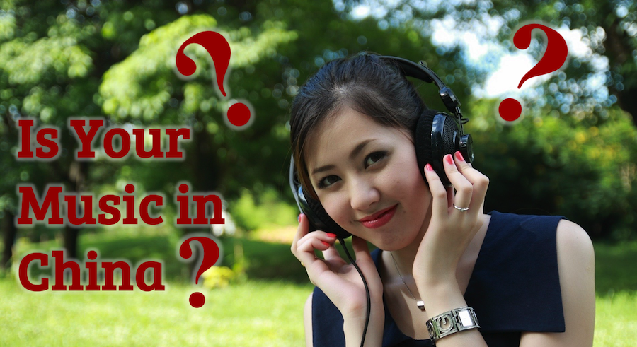 Is your music in china