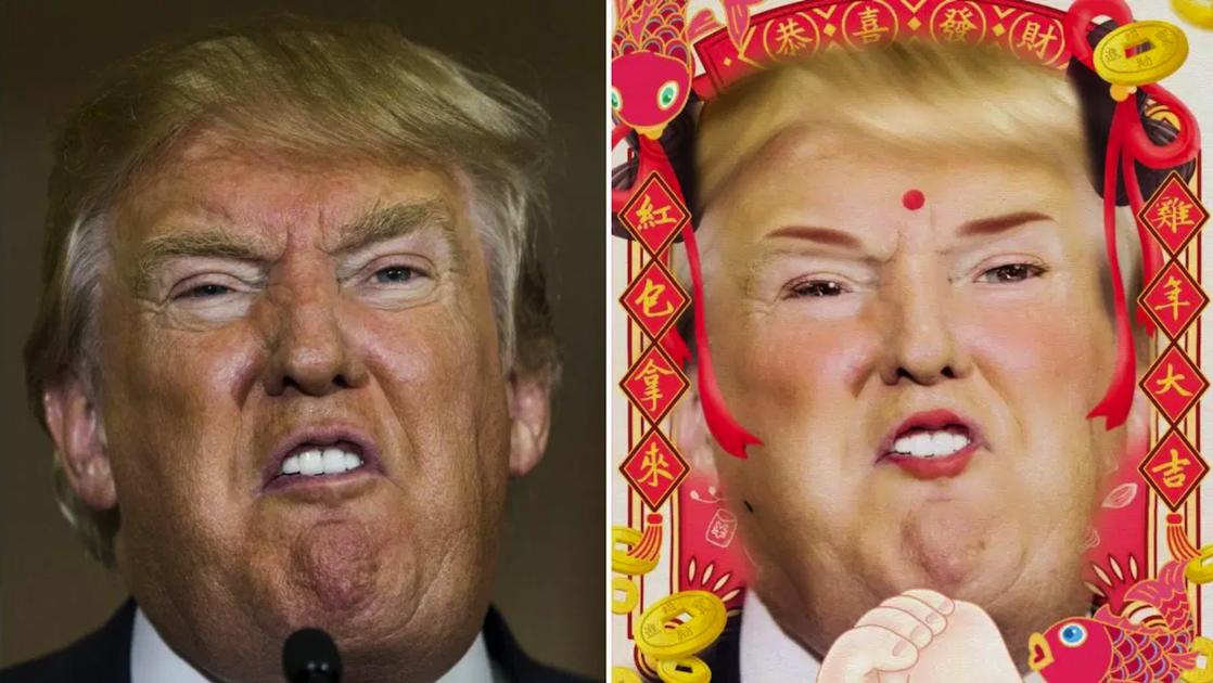 Donald Trump anime meitu Musicinfo