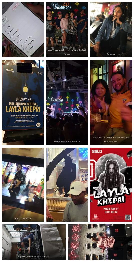 Layla Khepri snapshots in China